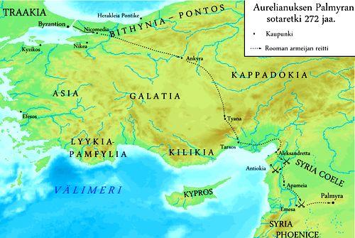 Campagne d'Aurelien contre Palmyre en 272