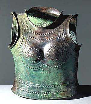 Cuirass of Marmesse end of Bronze Age IXe century