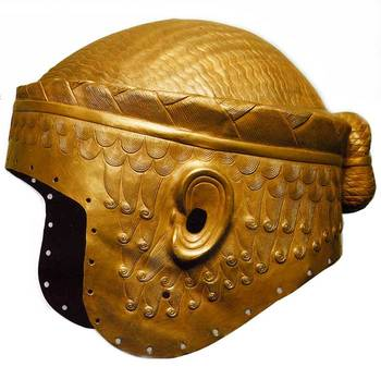 casque mesopotamien